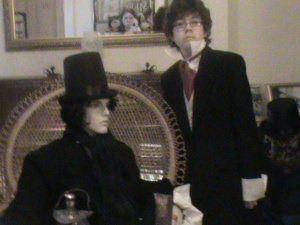 Charles Dickens party.