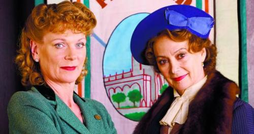 Two of my favourite actors, Francesca Annis and Samantha Bond.