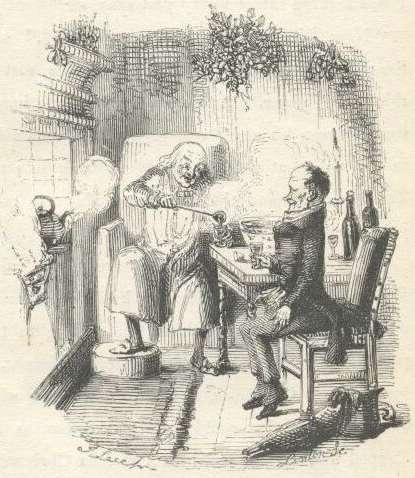 Illustrated by John Leech in 1843.