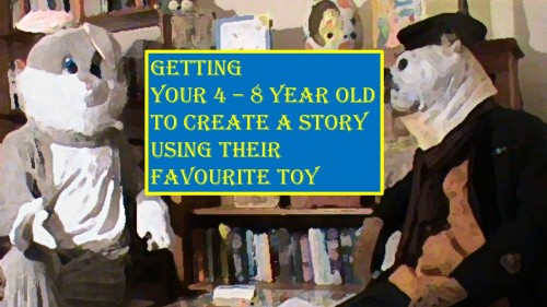 Watch Captain Digger and Rory Rabbit learn how to write a story.